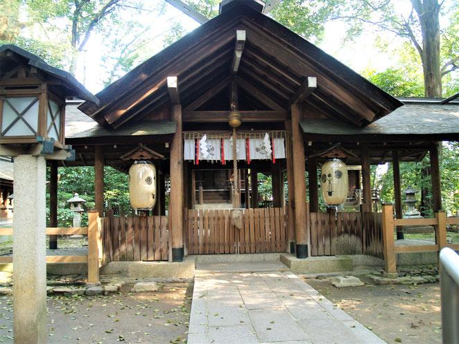 あじさい鍼灸マッサージ治療院 木嶋神社拝殿