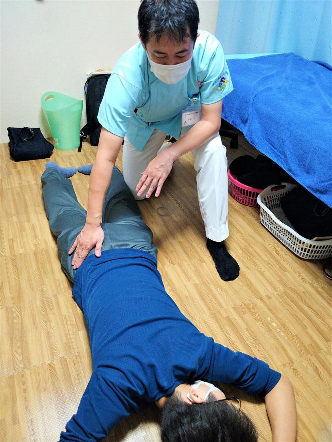 あじさい鍼灸マッサージ治療院 9月2日あん摩実技セミナー