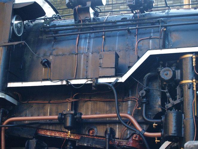 上野公園蒸気機関車