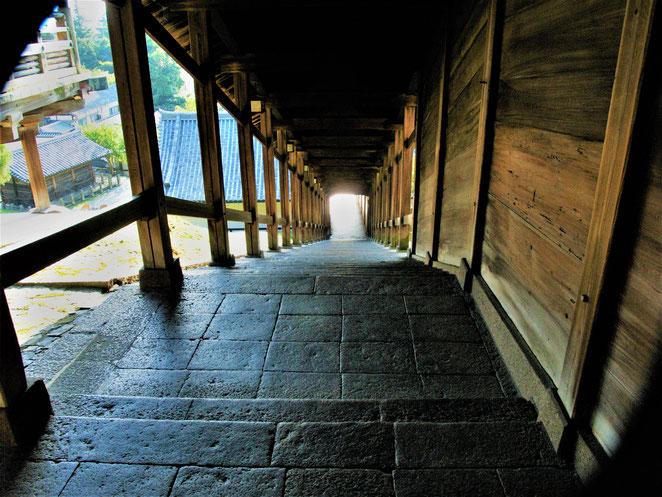 あじさい鍼灸マッサージ治療院 長谷寺の登廊