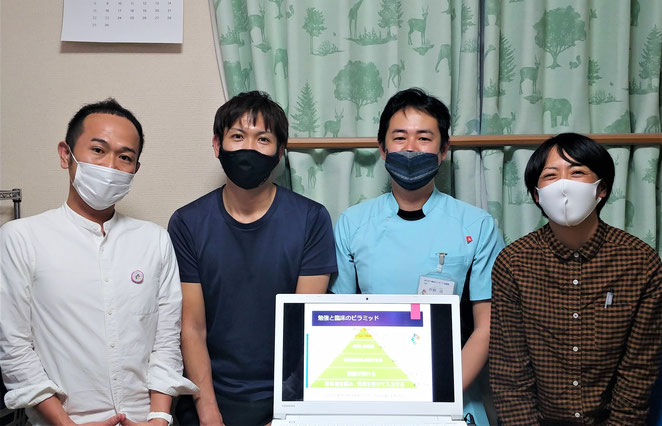 あじさい鍼灸マッサージ治療院 関西から来た学生さん達2