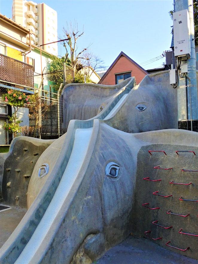 あじさい鍼灸マッサージ治療院 あかぎ児童遊園の滑り台