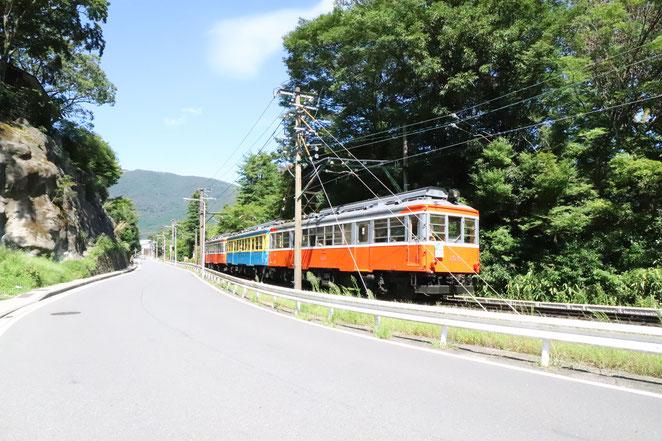 あじさい鍼灸マッサージ治療院 再開した箱根登山鉄道