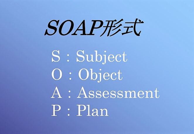 あじさい鍼灸マッサージ治療院 SOAPの意味