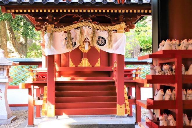 あじさい鍼灸マッサージ治療院 日枝神社の末社