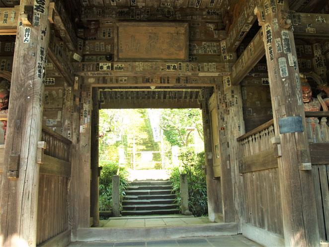 あじさい鍼灸マッサージ治療院 杉本寺山門からの景色