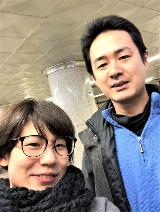 あじさい鍼灸マッサージ治療院 大阪から奥田恵理子先生と神楽坂へ