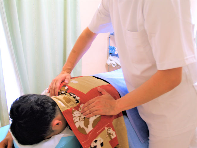あじさい鍼灸マッサージ治療院 いわゆるマッサージ(正確には按摩、指圧)