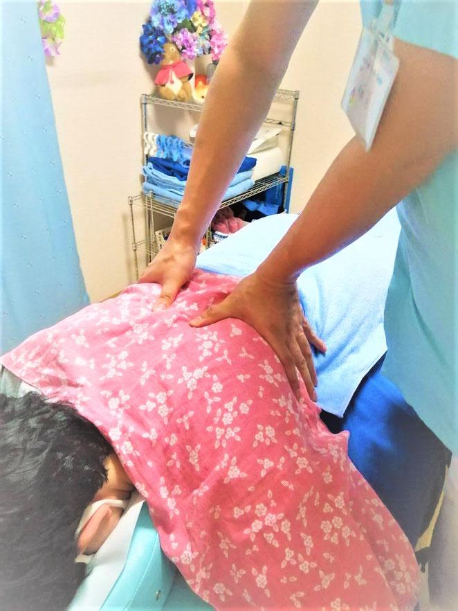 あじさい鍼灸マッサージ治療院 学生、ルーキーとの練習イメージ