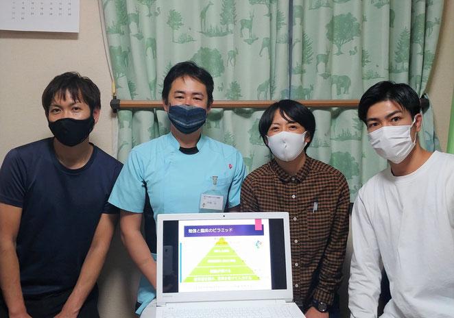 あじさい鍼灸マッサージ治療院 関西から来た学生さん達1