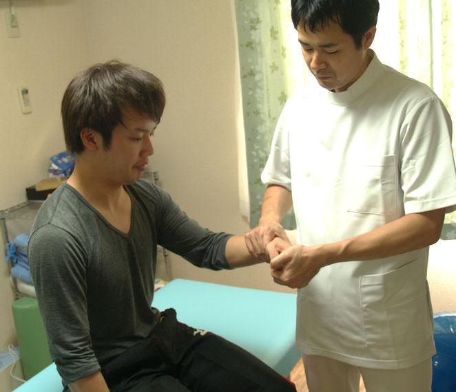 あじさい鍼灸マッサージ治療院 指の動作調整