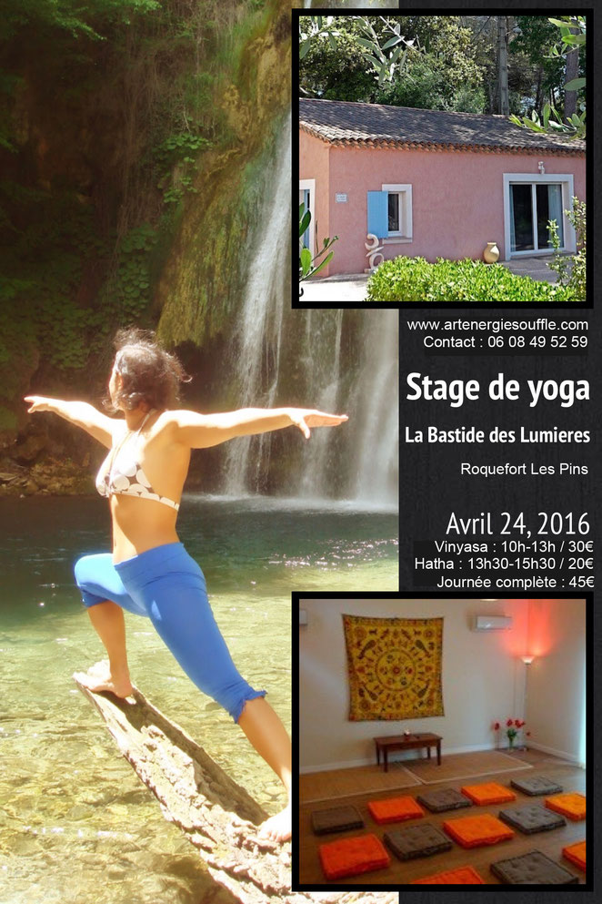 stage de yoga avec Mandy