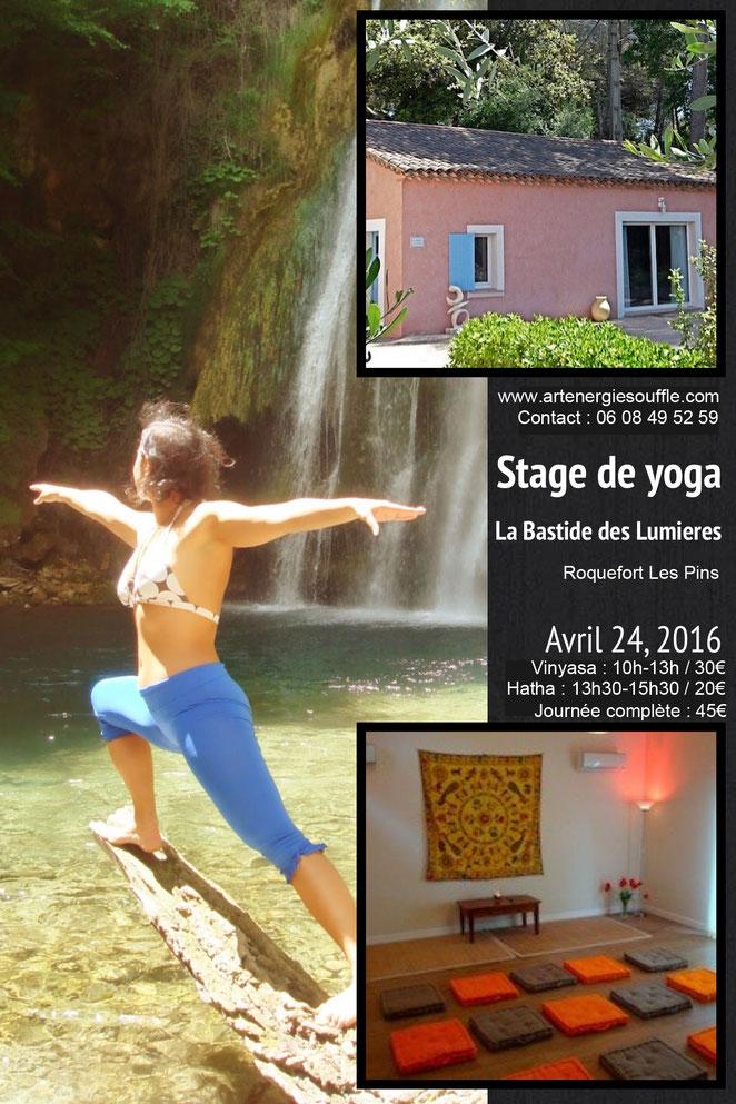 stage de yoga avec Mandy