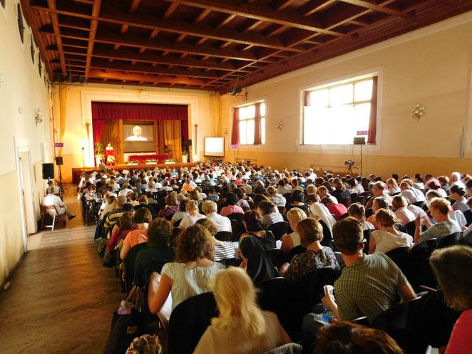 Anche quest'anno si terrà a Zagabria nella prima settimana di Luglio l'Incontro internazionale di Evangelizzazione ed Haghioterapia. Chiunque fosse interessato può consultare la pagina del sito della sede Centrale: http://zmr.hr/incontro-2018/