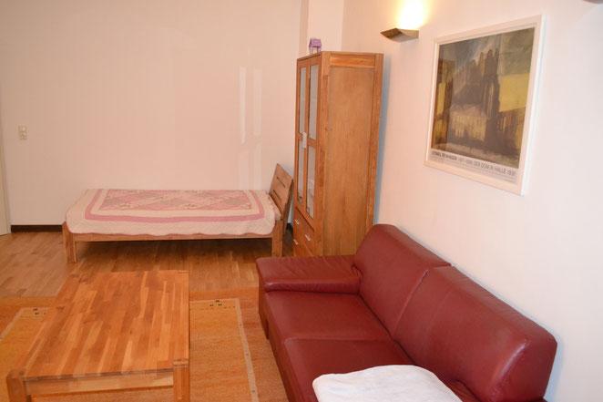 Wohnzimmer mit einem 5. Bett