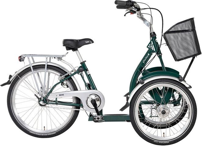 Pfau-Tec Bene Front-Dreirad für Erwachsene