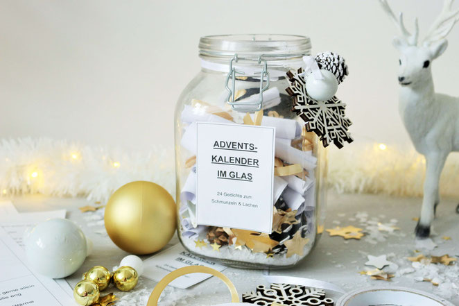 Diy Adventskalender Im Glas Umsetzen Partystories Blog