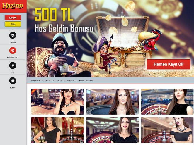 Hazino Canlı Casino