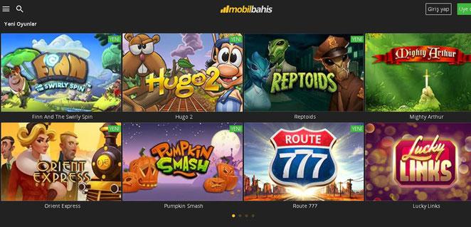 Mobilbahis Casino Ekran Görüntüsü