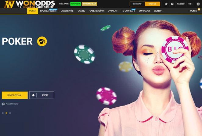 Wonodds Poker Ekran Görüntüsü