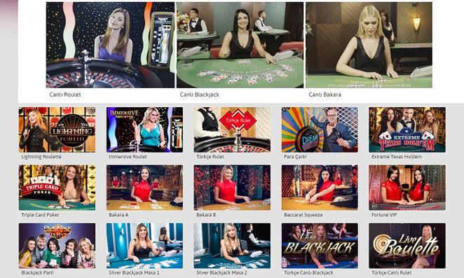 Youwin Canlı Casino Ekran Görüntüsü