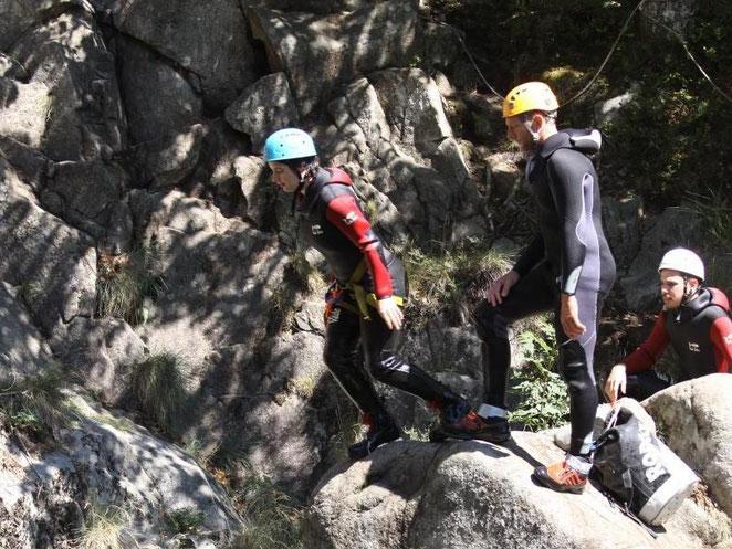 canyoning haute besorgues Ardèche cap 07