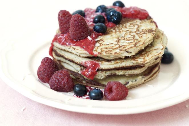 Paleo Kokos-Pancakes