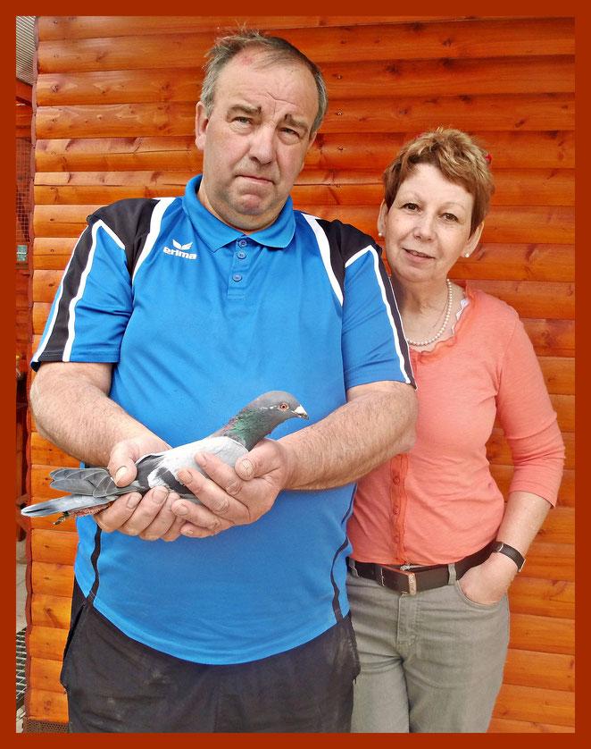 Heinz Jürgen Greife mit seiner Frau Rita.