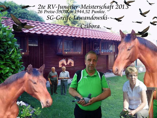 Die SG Greife-Lewandowski-Czibora.