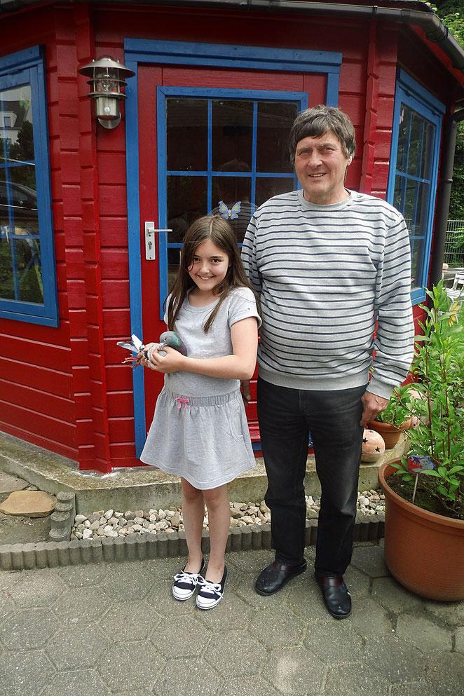 Marie und ihr Opa, Peter
