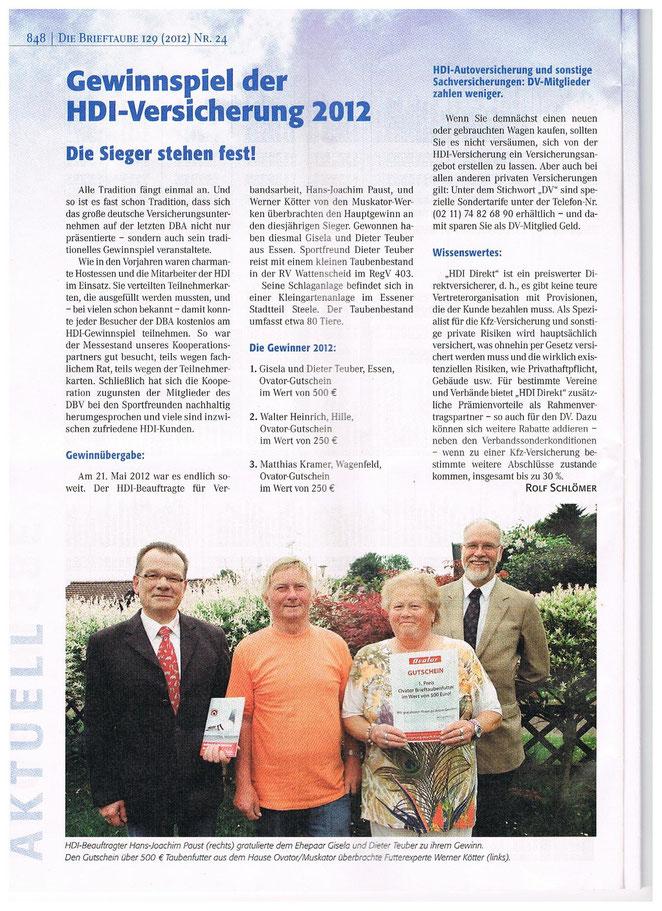 ARTIKEL der BRIEFTAUBE 24/12.