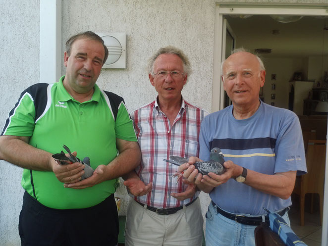J. Greife, R. Mackowiak, H. Czibora.