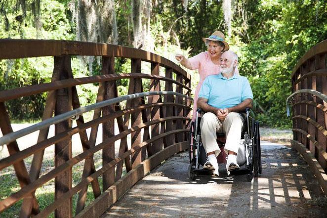 Bewahren Sie sich Ihre Freiheit! Rollstuhl Krankenbett Pflegebett mieten