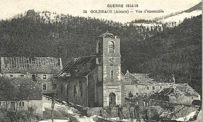 Goldbach en 1918