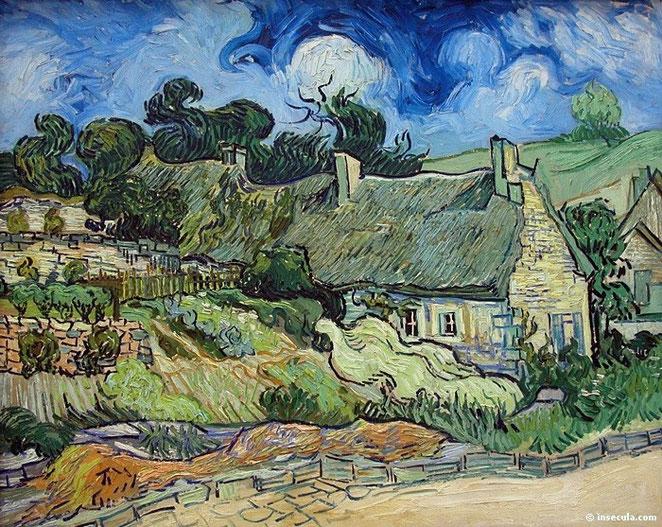 Campos en Cordeville, en Auvers-sur-Oise - Van Gogh (1890).
