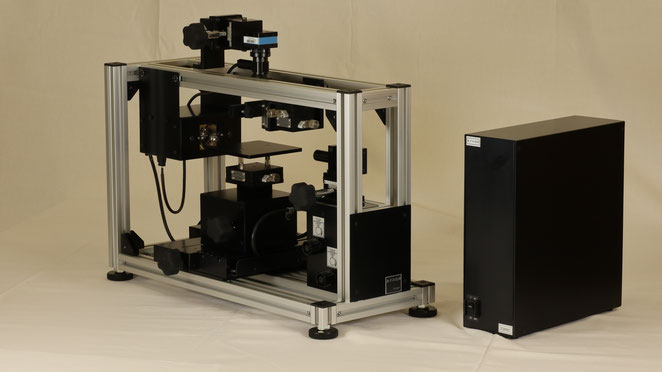 接触角計上面観測モデル F200T全体図