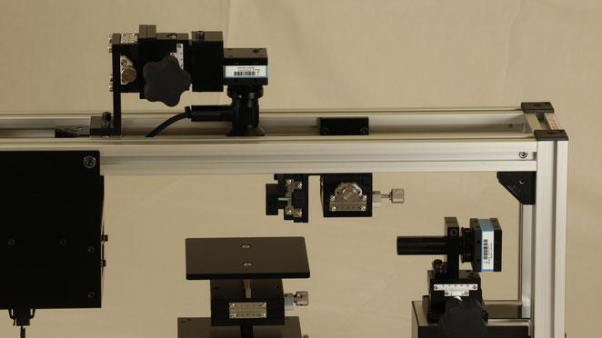 接触角計上面観測モデル F200T拡大図