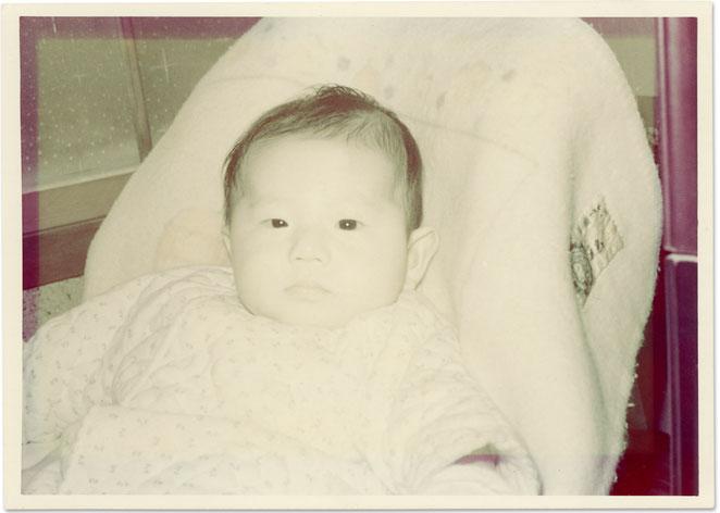 古い写真の修復例11 原版