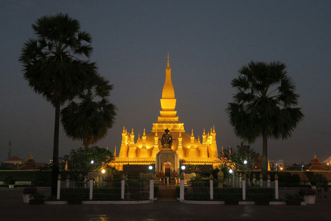 Vientiane by night