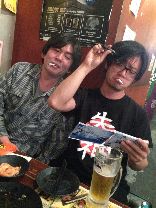 TOKYO MOR 田中さんとカワサキプロ氏