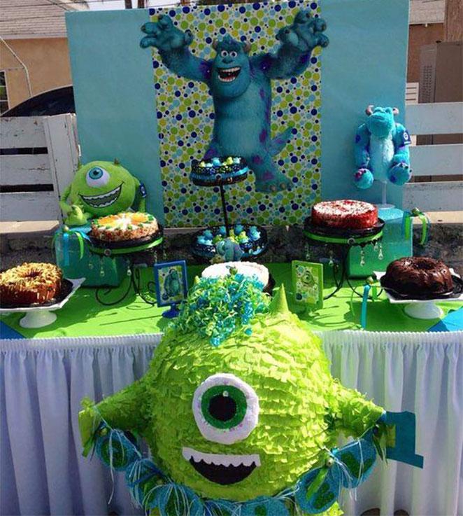 monster inc cumpleaños niño