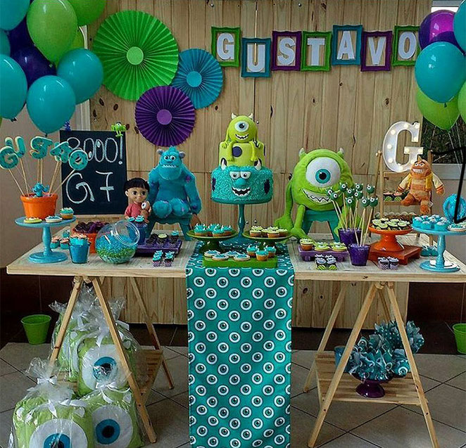 decoracion monster inc