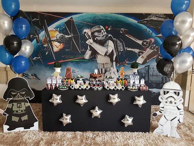 fiesta tematica de star wars