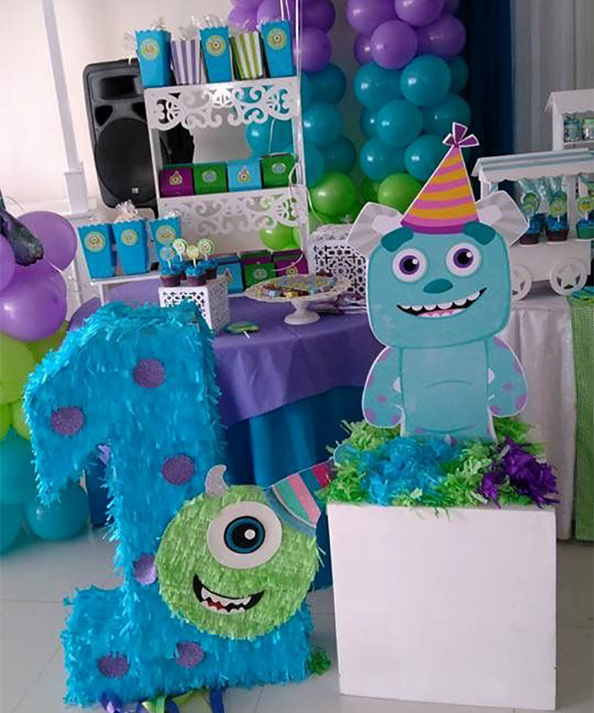 fiesta infantil monster inc