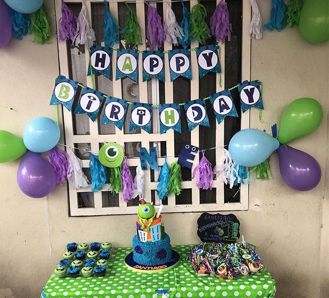 pastel cumpleaños monster inc
