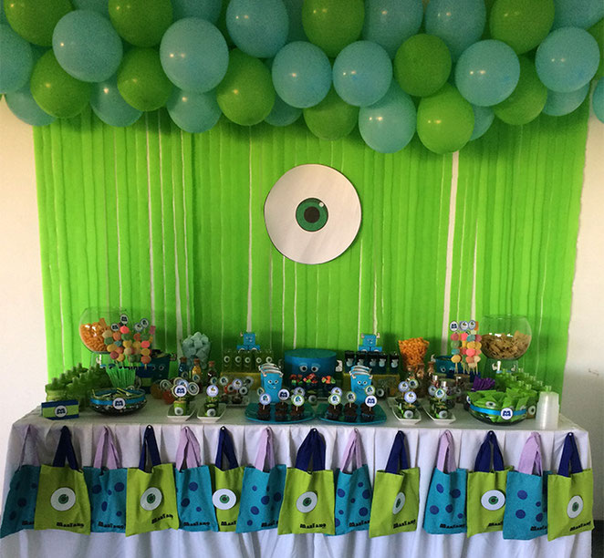 decoracion mike wazowski monster inc
