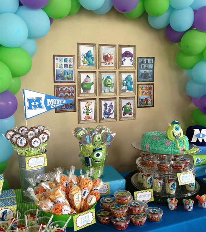 dulces para monster inc