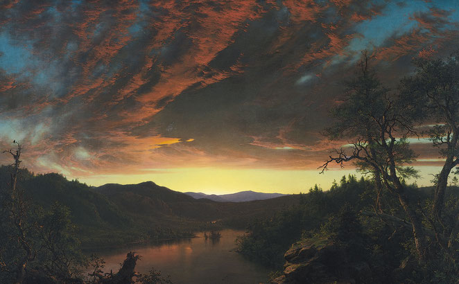 "F.E. Church, ""Twilight in the Wilderness"" (1860)"
