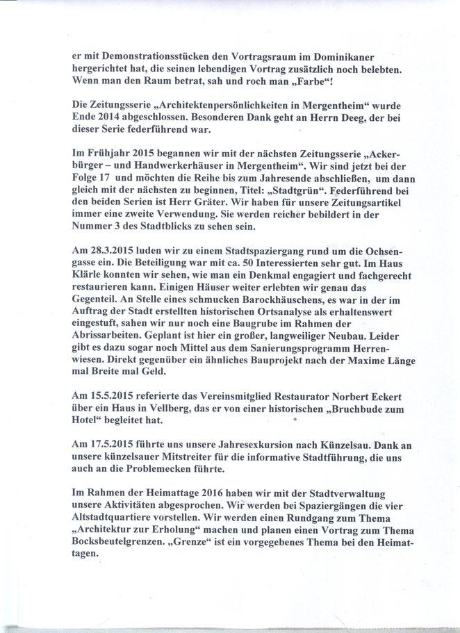 Jahresausflug 2017 nach Grünsfeld - stadtbild-mergentheim