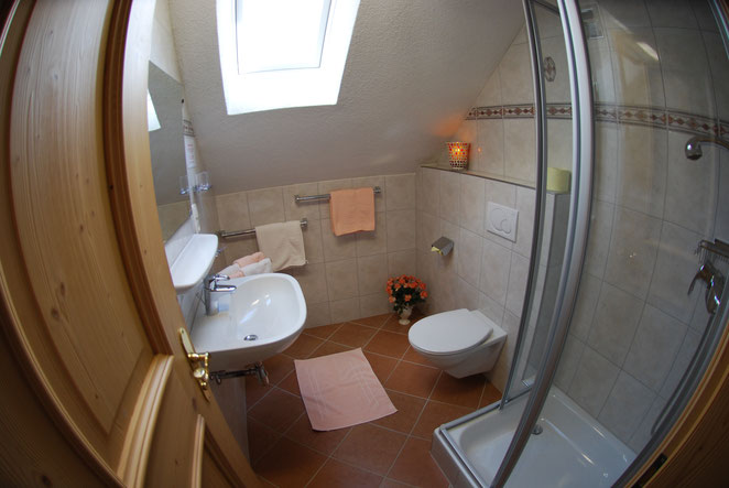 Kat.B Doppelzimmer Dusche/WC 2.Pers. (3.OG.) TV, Save, W-Lan